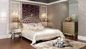 luxurious bedroom furniture beautiful decorative flowers