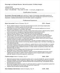 Accountant Resume Sample Pdf In India Port By Port