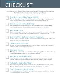 Checklist Design Template 9 Essential Steps To Email Template Design Checklist