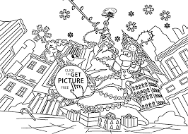 Christmas Coloring Pages For Kids Printable Free Phineas And Ferb