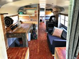 bus converted to amazing tiny home