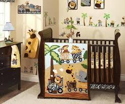 crib bedding zebra farm animal grey baby boy hot pink and