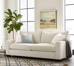 pb comfort square arm upholstered sofa