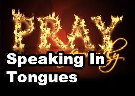 is speaking in tongues real gift of tongues