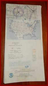 Vintage Sectional Aeronautical Chart Detroit Mi