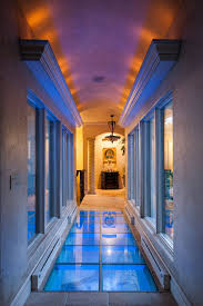 contemporary glass lighting. Contemporary Glass Floor In A Luxury Home Lighting
