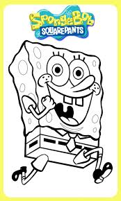 Coloring Pages Games For Kids With Spongebob Square Pants Images