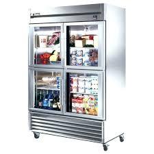 commercial refrigerator freezer combo glass front refrigerator residential medium size of 3 door commercial refrigerator used