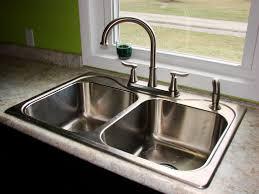 Kitchen Beautiful Kitchen Sink Design Ideas With Stainless Steel