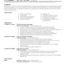 Construction Project Manager Resume Examples Fascinating Project Manager Resume Example Project Manager Skills And