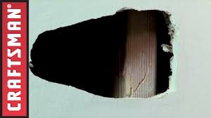 drywall patch repair how to fix a hole in the wall craftsman you