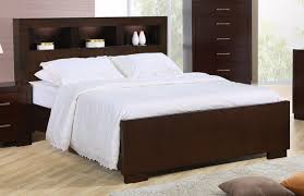 beds with storage headboards. Delighful Storage Jessica Queen Contemporary Bed Storage Headboard W Lights Cappuccino Finish With Beds Headboards N