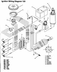 Wiring diagram yamaha outboard motor 120hp 91b 95 with