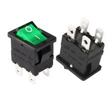 wiring a 4 pin dpst illuminated on off rocker switch electrics