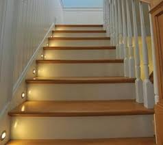 automatic led stair lighting. Led Stair Lighting The Lights Looked Kind Of Like This Automatic System