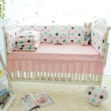 childrens bedding little star pattern baby crib bedding set kids bedding set newborn cot set cotton