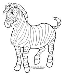 Small Picture dulemba Coloring Page Tuesday Zebra