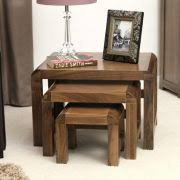 mobel oak console table. Shiro Walnut Nest Of 3 Coffee Tables Mobel Oak Console Table U