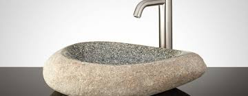 How To Clean Bathroom Sink Drain Amazing Modern Sink Clean Gray Stone Vessel Sinks Care Of Stone Vessel Sinks