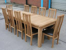 Large Oak Dining Table Seats 10 Interesting Decoration 10 Seat Dining Table Homey Design Round Oak