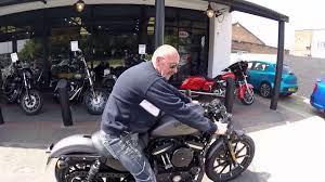the all new harley 883 sportster cafe racer 2017