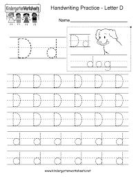 Writing Practice Worksheet Kindergarten Number Writing Practice Worksheets Antihrap Com