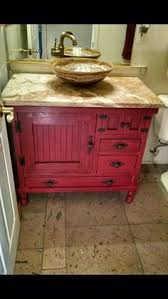 vanity cabinets for bathrooms. The Trunk Trader - Facebook Special Ordered Rustic Barn Red Antiqued Bathroom Vanity Cabinet With Vessel Cabinets For Bathrooms I