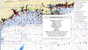 Which Information Can You Find In The Enc Chart Legend Coast Survey Improves Access To Data On Thousands Of Wrecks