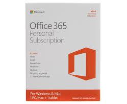 Microsoft Office 365 Pricing Microsoft Office 365 Personal 32 64 Bit 1 Year