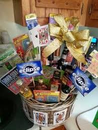 easy gift basket blueberry swisher sweets gum scratch offore