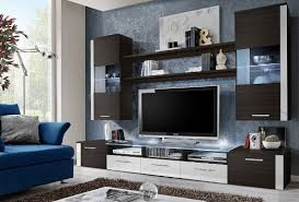 wall furniture for living room. FRESH Modern Wall Unit / Entertainment Centre Spacious And Elegant Furniture Tv Cabinets Stand For Living Room High Capacity D