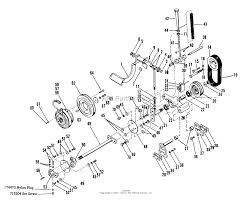 Clutch power train and front p t o on ford transmission parts diagram