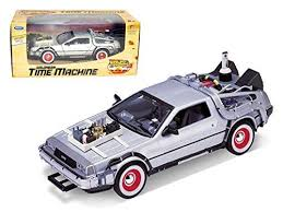 Delorean From <b>Movie</b> 'Back To The Future 3' <b>1/24</b> Car by <b>Welly</b> ...
