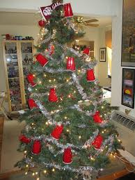 The Red Solo Cup Christmas tree - Taylor this one is for you!! LOL