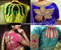 South Indian Blouse Neck Design Pin On Saree Blouse Designs