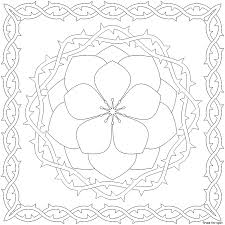 The patterns include animals, flowers, shapes, and more. Pattern Coloring Pages For Kids Coloring Home