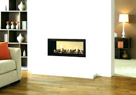 elegant double sided electric fireplace two logs ireland