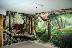 3d wall painting ideas archives home interior decoration with how to paint art designs for living 3d wall painting