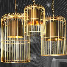 birdcage lighting. modern golden birdcage pendant lighting in baking finish 10781 5