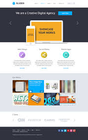 Website Design Templates BlueBox Flat Website PSD Templates Design Template Psd Templates 22