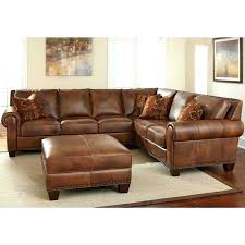 traditional design l shaped brown essed leather sectional in used couches for small couch c