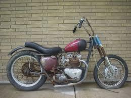 1956 pre unit thunderbird project bike for sale triumph forum