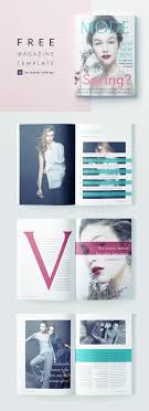 Indesign Magazine Beautiful Fashion Magazine Template For Indesign Free Download
