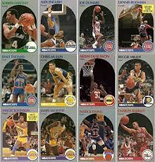 I ordered a box of nba hoops and a few packs, but the company sent me this box free since. 1990 91 Hoops Series 1 Set Nba Basketball 336 Card