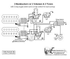 wiring diagram 2 humbuckers 3way lever switch 2 volumes 1 tone coil guitar wiring diagram 2 humbuckers 3 way toggle switch 2 volumes 2 tones individual coil