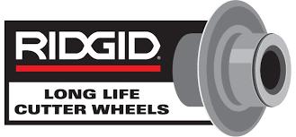 ridgid logo. heavy duty pipe cutter replacement wheels ridgid logo
