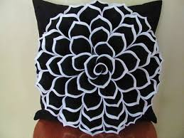 Pillow Patterns Adorable Decorative Pillow Felt Flower Pillow Pattern SOPHIA FLOWER Fabric