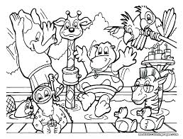 Printable Zoo Coloring Sheet Download Them Or Print Zoo Coloring