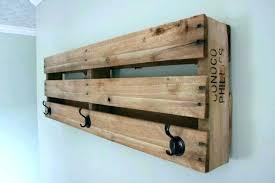 Crate And Barrel Wall Coat Rack Enchanting Awesome Wall Hanging Coat Rack With Shelf Wall Mounted Coat Rack