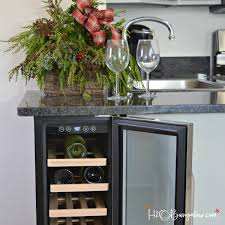 built in wine fridge. Simple Tutorial Instructions To Make A DIY Built In Wine Cooler Your Kitchen. Fridge
